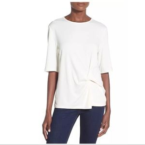 TOPSHOP KNOT FRONT TOP